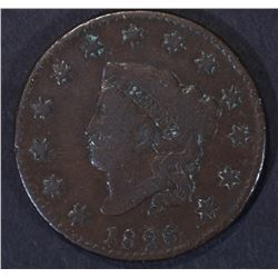 1826/5 LARGE CENT N-8 FINE