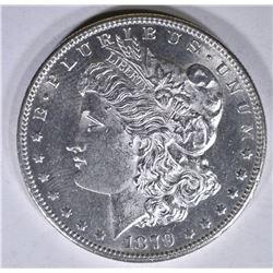 1879-S REV OF 78 MORGAN DOLLAR, CH BU