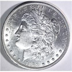 1889-O MORGAN DOLLAR, AU/BU