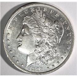 1893 MORGAN DOLLAR, BU