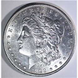 1899-S MORGAN DOLLAR, CH BU