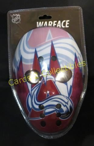 New Colorado Avalanche War Face Mask