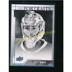 17-18 Upper Deck UD Portraits #P46 Carey Price