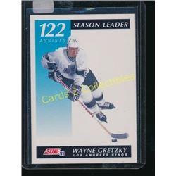 91-92 Score Canadian Bilingual #295 Wayne Gretzky
