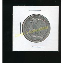 1943 USA Silver Liberty 1/2 Dollar Coin