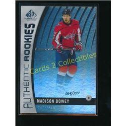 17-18 SP Game Used Rainbow #153 Madison Bowey RC