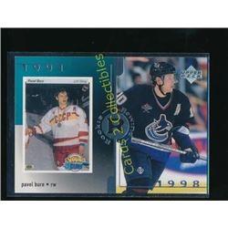 1998-99 Upper Deck #18 Pavel Bure Rookie Rewind