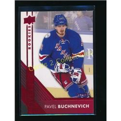16-17 UD Overtime Red #171 Pavel Buchnevich