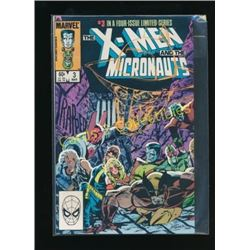 Marvel X-Men & The Micronauts #3