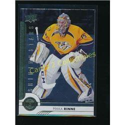 17-18 Upper Deck Shining Stars Pekka Rinne
