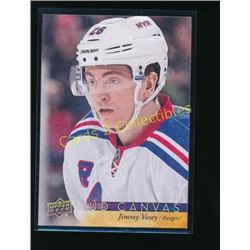 17-18 Upper Deck Canvas #C59 Jimmy Vesey