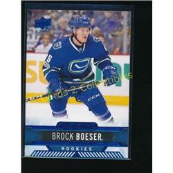 17-18 Upper Deck Overtime Blue #60 Brock Boeser