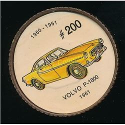 1960's Jello Coins Volvo P-1800