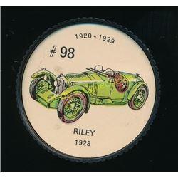 1960's Jello Coins Riley 1928