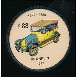 1960's Jello Coins Franklin 1922