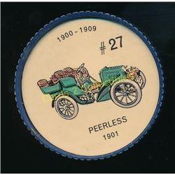 1960's Jello Coins Peerless 1901