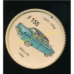1960's Jello Coins Willys 1952
