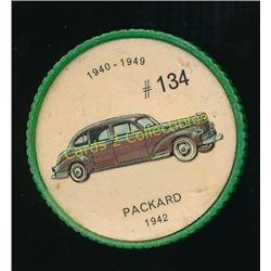 1960's Jello Coins Packard 1942