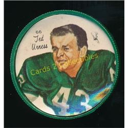 1964 Nalley's Coins #66 Ted Urness