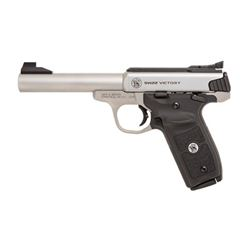 "S& W VICTORY TRGT 22LR 10RD 5.5"" STS"