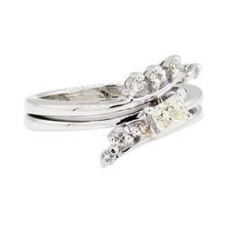 0.35 ctw Diamond Ring - 14KT White Gold