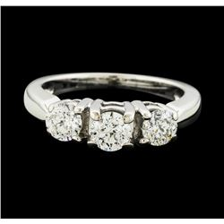 18KT White Gold 1.00 ctw Diamond Ring