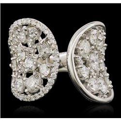 14KT White Gold 3.81 ctw Diamond Ring
