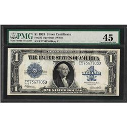 1923 $1 Silver Certificate Note Fr.237 PMG Choice Extremely Fine 45