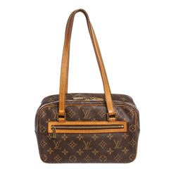 Louis Vuitton Monogram Canvas Leather Cite MM Shoulder Bag