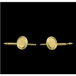 14KT Yellow Gold Shirt Studs