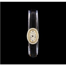 Cartier Baignoir Mini 18KT Yellow Gold Ladies Watch