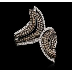18KT White Gold 1.59 ctw Diamond Ring