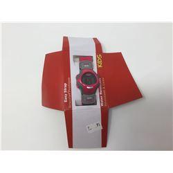 Coleman Kids' Easy Strap Digital Wrist Watch Pink