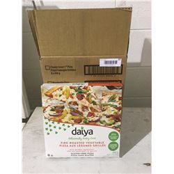 Case of Daiya Dairy-Free Fire Roasted Vegetable Pizza (8 x 492g)