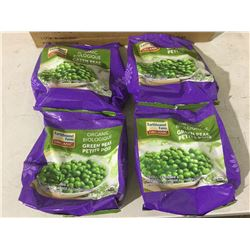 Earthbound Farm Organic Green Peas (4 x 350g)