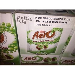 case of 12 x 135g. AreoMint Bubbles
