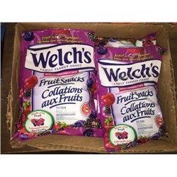 Case of 12 x 175g. WelchsFruit Snacks