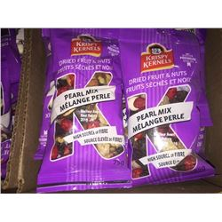 Case of dried fruit  nut Pearl Mix Snacks 12x75g