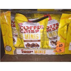 Case of 12 Coffee Crisp Minis
