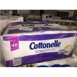24 Pack of CottonelleBathroom Tissue