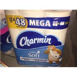 12 rolls of Charmin Bathroom Tissue