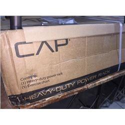 CAP heavy duty power rack