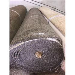 New Full Roll of Residential Carpet (sold by the square foot).Earth Tone