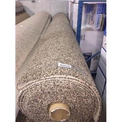 New Full Roll of Residential Carpet (sold by the square foot).Auburn Evening