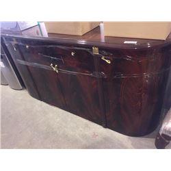 "Wood Grain72"" X 17.5 dresser"