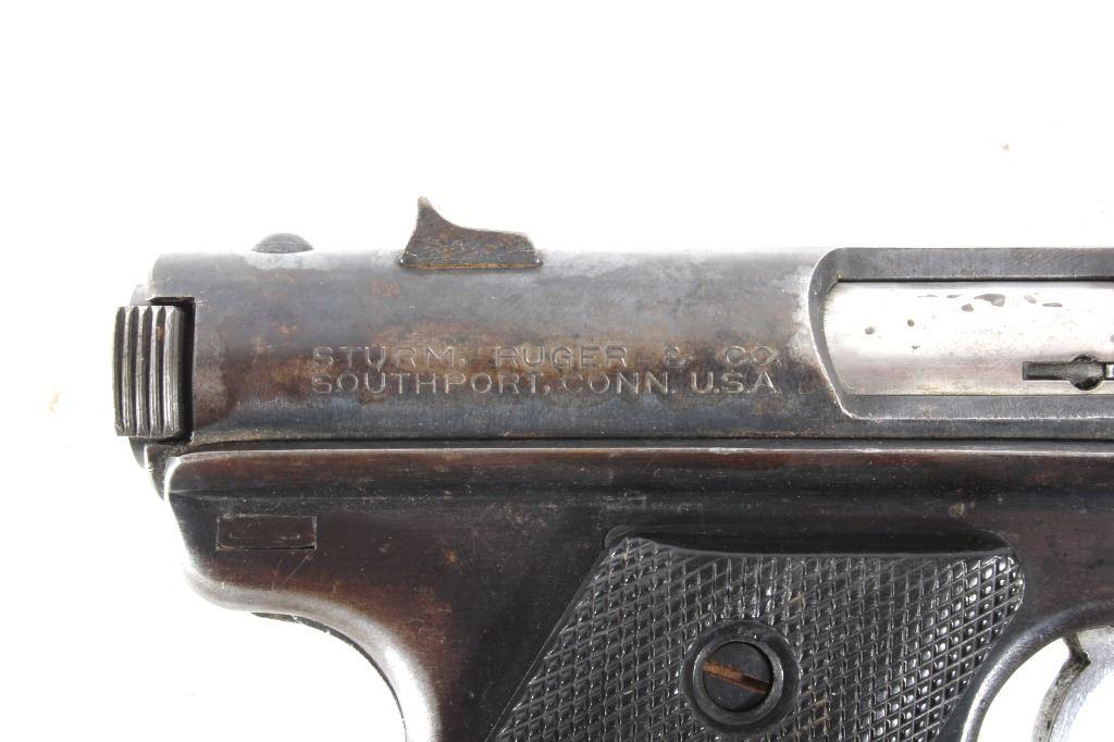 Sturm, Ruger & Co Mark I  22 LR Pistol 1955