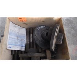 BOX OF PUMP IMPELLRES AND SHAFTS