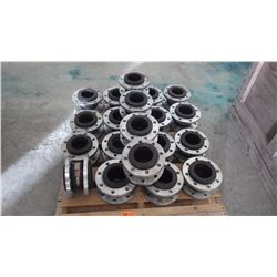 "PALLET OF 4"" TYPE EE COUPLERS APPROX 20"