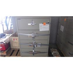LGE 4 DR INSULATED FIREPROOF FILING CABINETS
