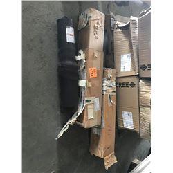 2 PARKER PISTON ACCUMULATORS - 3000 PSI